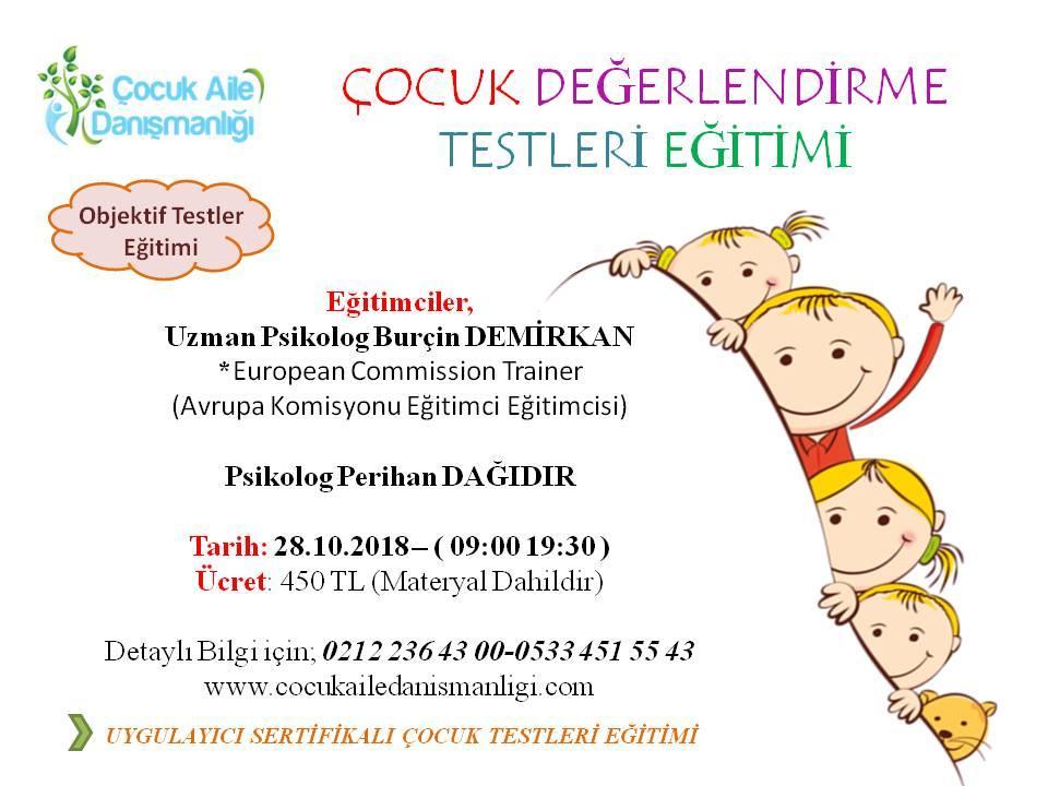 Çocuk Değerlendirme Test Eğitimleri